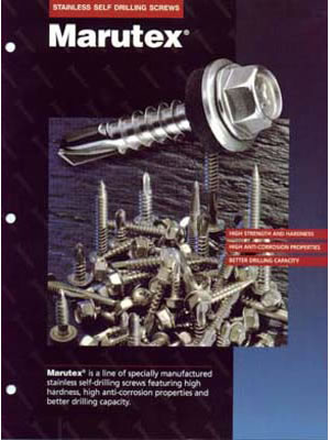"X3 Ultra Stainless Self Drilling and Sheet to Wood ""Ultra Grip"" Fasteners"